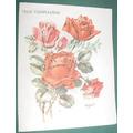 Vintage Tarjeta Troquelada Rosas Cumpleaños Zsolt Frase