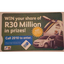 Tarjeta De Telefono Sudafricana - Unica En Mercado Libre