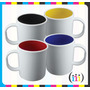 Taza P/ Sublimar Plastica Interior Color Irrompible Polimero