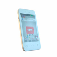 Smartphone Tcl D35 Blanco+flash+android 4.4+wifi+dual C