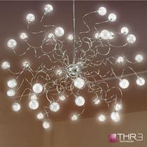 Thr3 Iluminación Araña 40 Luces Diseño A Medida Garantia!
