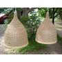Lámparas Colgantes De Rattán Y Seagrass