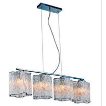Lampara Colgante 4 Luces Para Comedor Sala Tvf Iluminacion