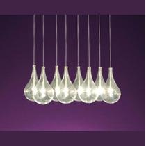 Lámpara Colgante Gota De 10 Luces