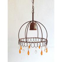 Artefactos De Iluminacion En Hierro Vintage Lampara Colgante