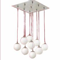 Lámpara Colgante Miniworld De 9 Luces
