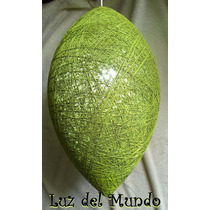 Lámparas De Hilo ¡¡¡exclusivas!!! Modelo Cocoon