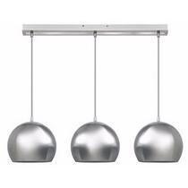 Lámpara Colgante Miro De 3 Luces Cromado - Envío Gratis