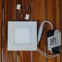 Panel Led Embutir 3w Watts Spot 220w Cuadrado Plafon