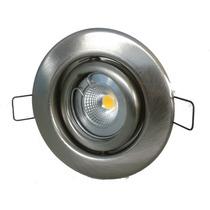 Spot Embutir Acero C/ Lampara Dicroica Led Cob 5 W