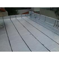 Membrana Asfaltica Aluminio No Crack. Colocacion!