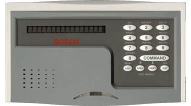 Teclado D1255b Para Alarma Bosch D7412 Robo Incendio Acceso