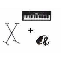 Teclado Organo Casio Ctk3400 61 Tec T/ Piano Usb Sensitivo