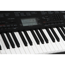 Teclado Organo Casio Ctk3200 61 Tec T/ Piano Usb Sensitivo