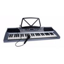 Teclado / Organo Musical 54 Teclas Mk Lcd Led Rec Mk2083
