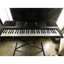 Organo Teclado Yamaha Psr E 343 Casi Sin Uso Impecable Base