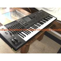 Yamaha Motif Xf6 Teclado Sintetizador Sampler Impecable