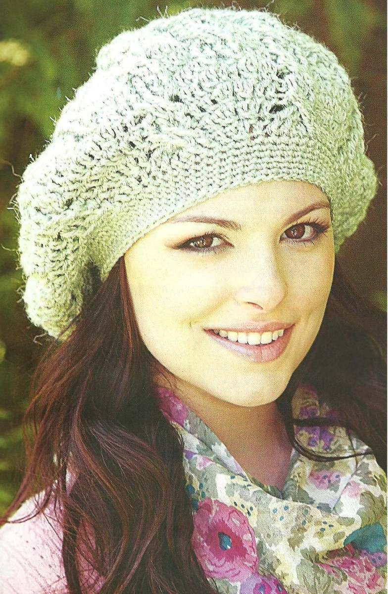 Tejidos Artesanales A Crochet: Boinas - $ 140,00 en MercadoLibre