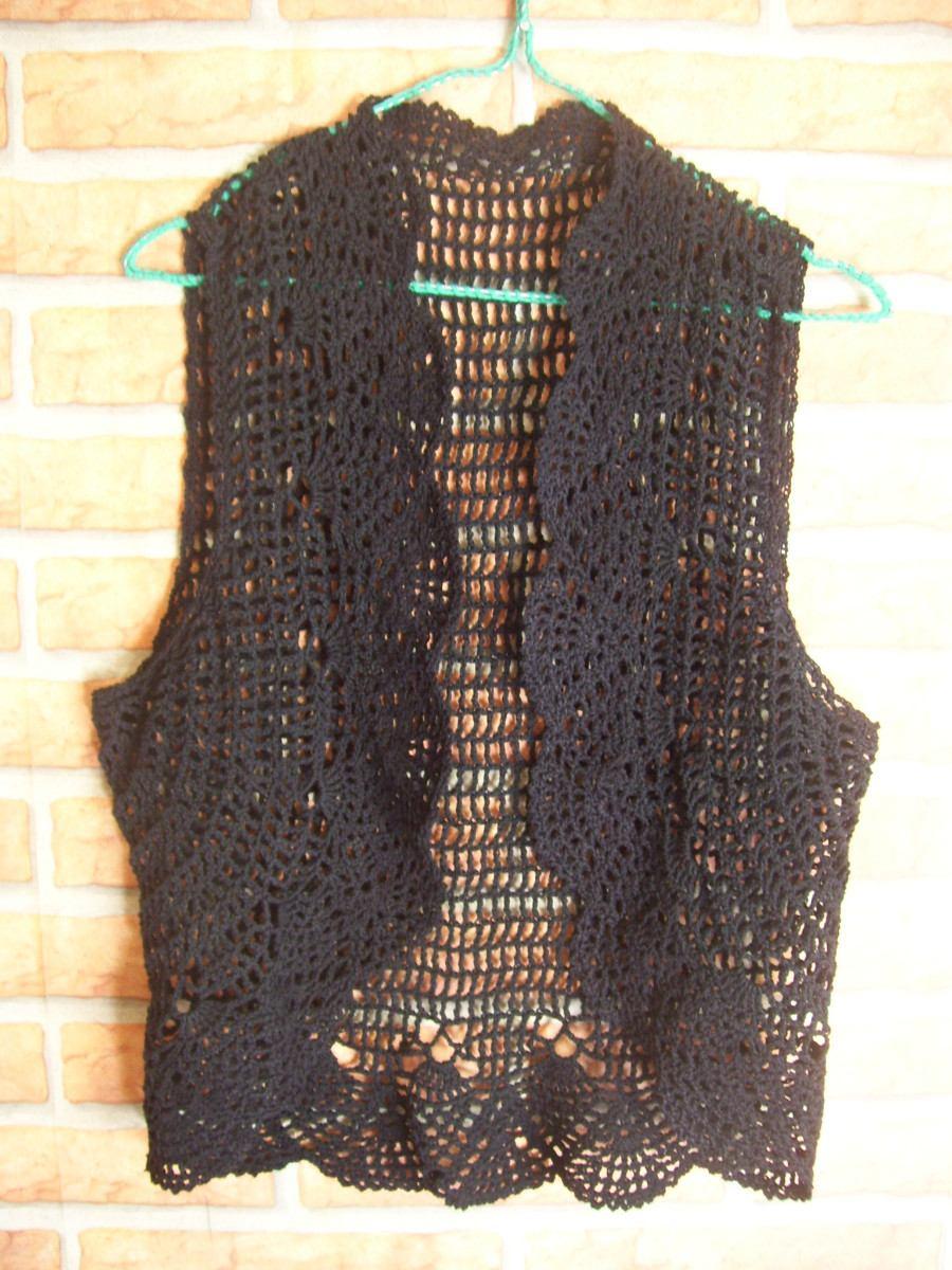 Tejidos Artesanales A Crochet: Chalecos - Boleros - $ 400,00 en