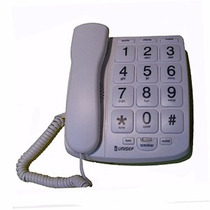 Telefono Mesa Unisef Ht-320 Tecla Grande / Memorias