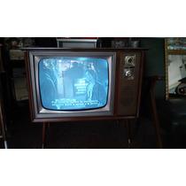Televisor Zenit Retro Decada Del 50 Al 60 Unico
