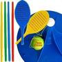 Tenis Orbital Raqueta Palo Pelota Plaza Playa Jardin +dvd