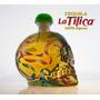 Tequila Tilica Reposado 100% Agave Botella Calavera Pintada