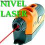 Nivel Laser Laser Nivelador Horizontal Y Vertical+2 Burbujas
