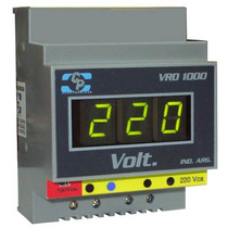Voltimetro Digital Riel Din- Tablero Automatización