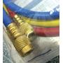 Juego 3 Mangueras Para Manifold Gas R410 Refrigeracion 90 Cm