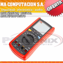 Multimetro Tester Digital Uni-t Ut70d Autorango