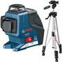 Nivel Laser 3 Lineas Gll 3-80 P Bosch + Tripode Bosch Bs150