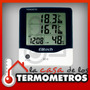 Termóhigrometro Digital Sensor In/out De Temperatura Y Reloj