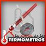 Termometro Pinchacarne/ Cocina Analógico Luft Chocolate Agua