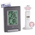 Termometro Interior Y Exterior Con Reloj Tfa - Easy Go