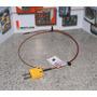 Termocupla Tester Tipo K Cable Fv Long 60cms. Ficha Mini