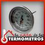 Termometro Bimetalico De Acero Inoxidable Horno De Barro