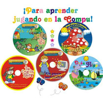 Software Educativo 21 Cd Para Niños De 2 A 11 Años