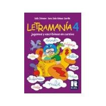 Letramania 4 Kel Aprender Cursiva Libro Nuevo