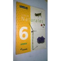 Ciencias Naturales 6 Segundo Ciclo Editorial Estrada