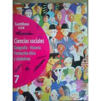 Ciencias Sociales 7 Santillana Egb