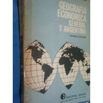 Libro De Geografía Económica General Y Argentina-3ra.edición