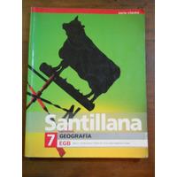 Geografia 7 Egb Santillana. Serie Claves. Silvia Riccardini.