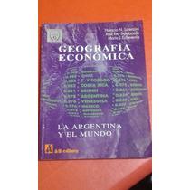 Libro. Geografia Economica. Lorenzini