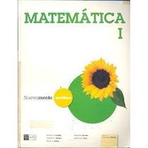 Matematica 1y2 Nuevamente Santillana,nuevo,cada Uno -libros