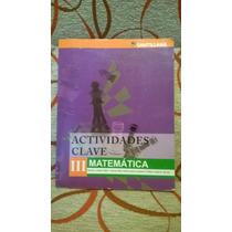 Libro Actividades Clave 3 Matemática Santillana