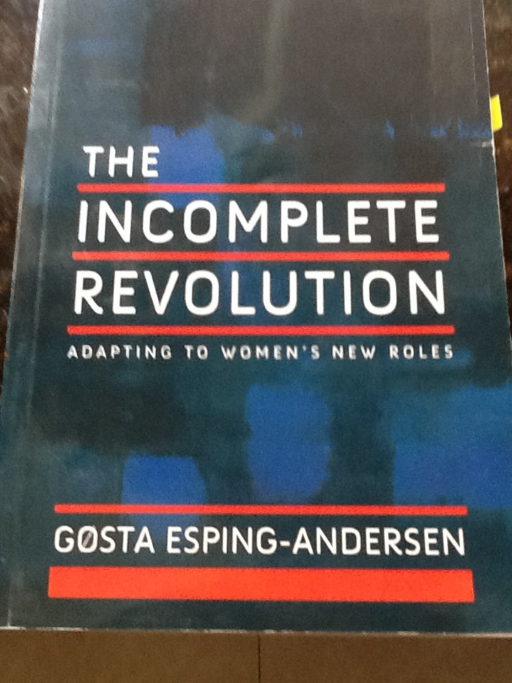 The Incomplete Revolution By Gosta Esping-andersen - $ 250,00 en ...