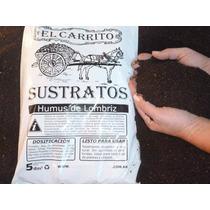 Humus De Lombriz X 10dm3. Fertilizante Ideal Para Jardinería