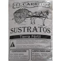 Tierra Fértil 25dm3, Enriquecida Con Humus. Ideal Jardinería