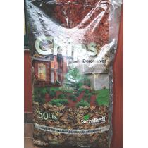 Chips De Corteza De Conifera - Jardinurbano - 50 Litros